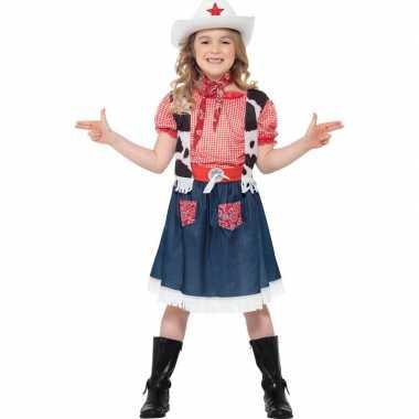 Meisjes cowboy carnavalskleding