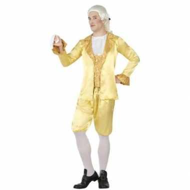 Middeleeuwse lakei verkleed carnavalskleding voor heren
