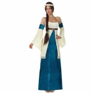 Middeleeuwse prinses verkleed jurk voor dames