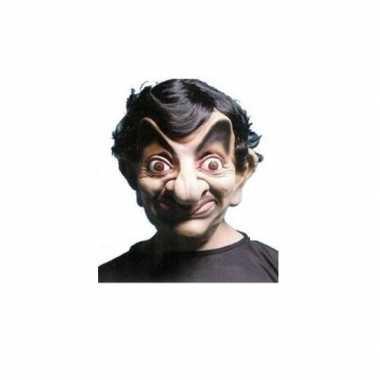 Mister Bean verkleed maskers