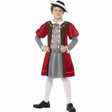Musketier carnavalskleding voor jongens
