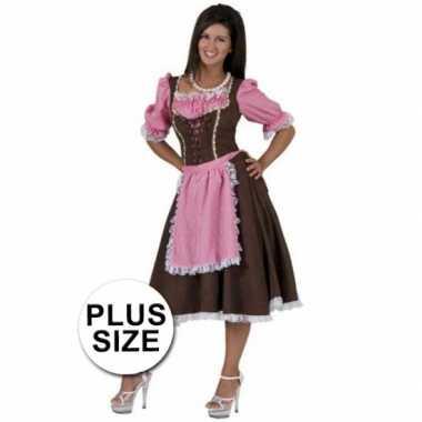 Oktoberfest verkleed jurk plus size