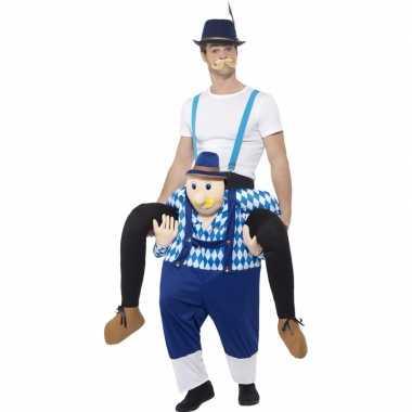 Oktoberfest verkleedcarnavalskleding man op bayerische man