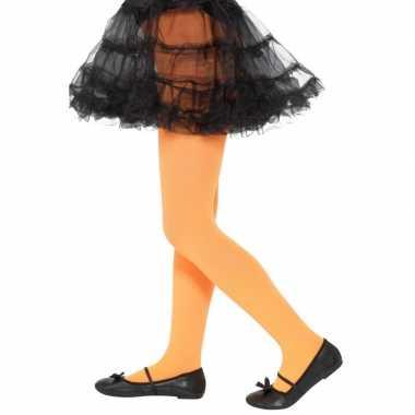 Oranje legging voor kinderen 6 12 jaar