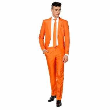 Oranjesupporters verkleedpak man