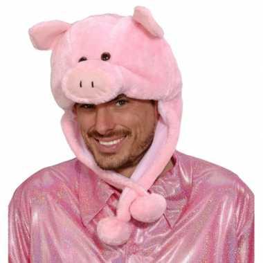 Originele varkens muts voor volwassenen
