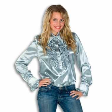 Overhemd met rouches voor dames