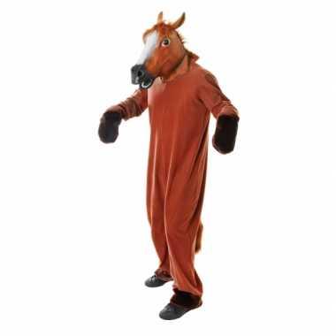 Paarden carnavalskleding volwassenen