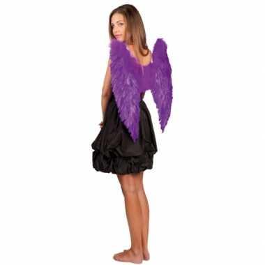 Paarse vleugels 65x65