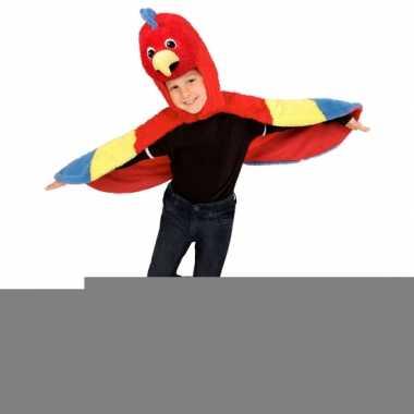 Papegaai carnavalskleding voor peuters
