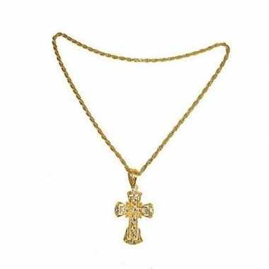 Pastoor ketting met kruis