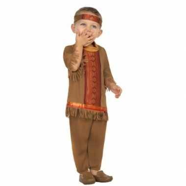 Peuter carnavalskleding indiaan