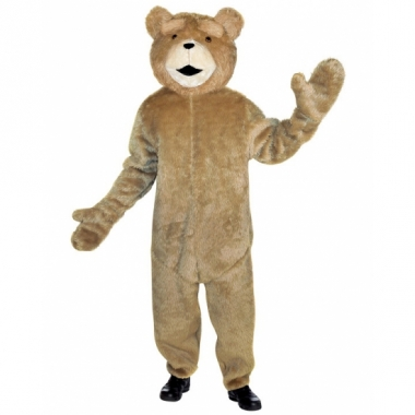 Pluche beren carnavalskleding Ted