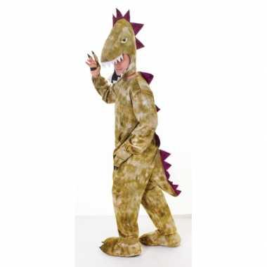 Pluche dinosaurus carnavalskleding volwassenen