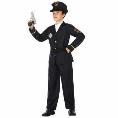Politie agent pak / verkleed carnavalskleding voor jongens