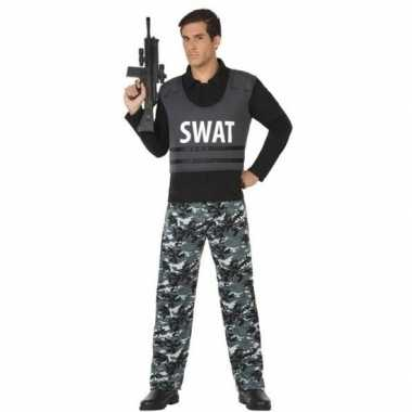 Politie swat verkleed pak/carnavalskleding voor volwassenen