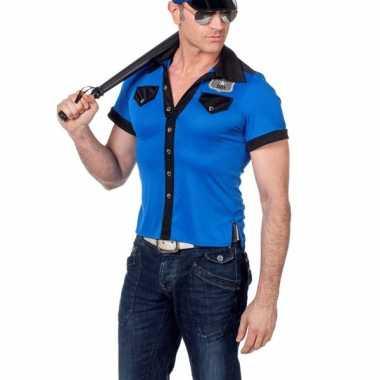 Politie t shirt voor heren