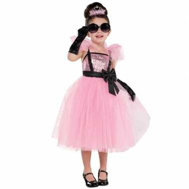 Prinses/prinsessen jurk thema feestje carnavalskleding voor meisjes