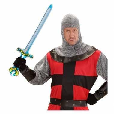 Ridder wapen opblaasbaar zwaard