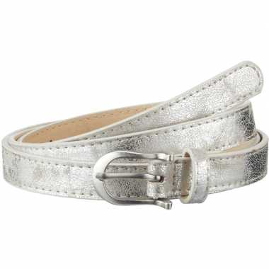 Riem zilver verkleedaccessoire voor dames