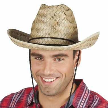 Rieten cowboyhoed dallas voor volwassenen