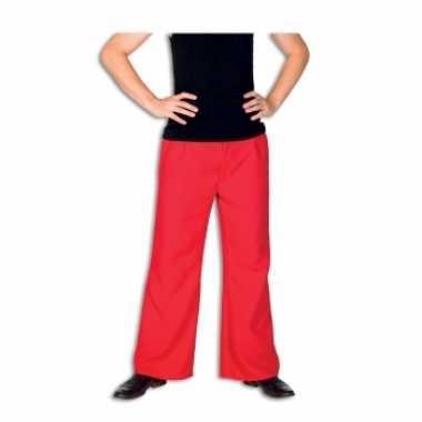 Rode carnavalskleding broek voor heren