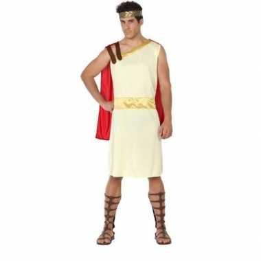 Romeinse/griekse heer agis verkleed carnavalskleding voor heren