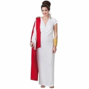 Romeinse keizerin verkleed carnavalskleding voor dames