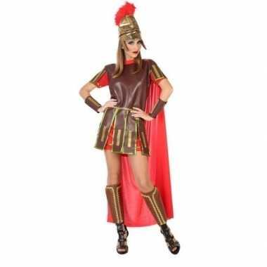 Romeinse soldaat/gladiator felicia carnavalskleding/jurk voor dames