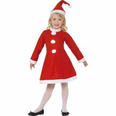 Rood kerst carnavalskleding meiden