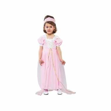 Roze prinsessen jurkje voor peuters