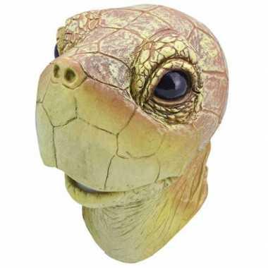 Rubber masker schildpadden kop