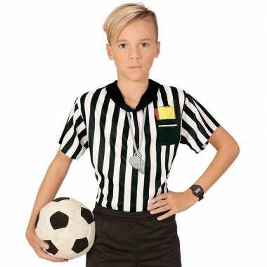 Scheidsrechter verkleed shirt voor jongens