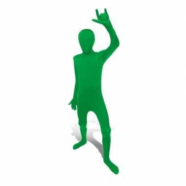 Second skin pak groen voor kids