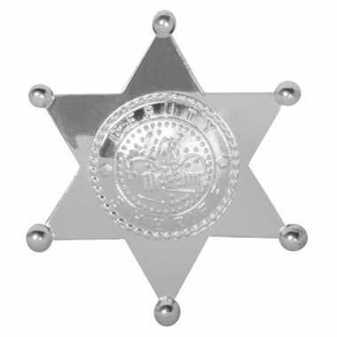 Sheriff broche sterren zilver