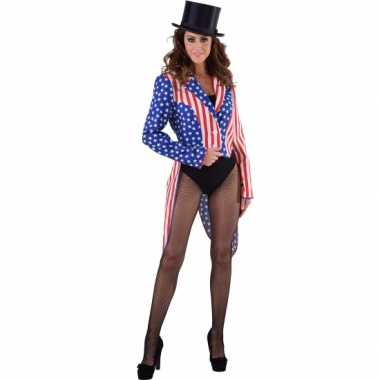 Slipjas amerika stars and stripes voor dames