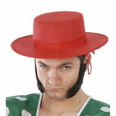 Spaanse carnavalshoed voor mannen 10074836