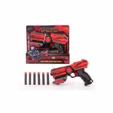 Speelgeweer 23 cm met foam kogels