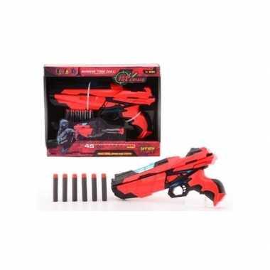 Speelgeweer 29 cm met foam kogels