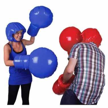 Speelgoed opblaasbare bokshandschoenen