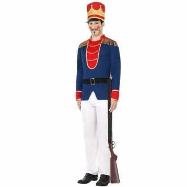 Speelgoed soldaat verkleed carnavalskleding voor heren