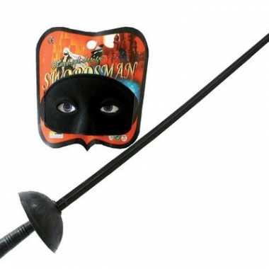 Speelgoed zwaard zwart