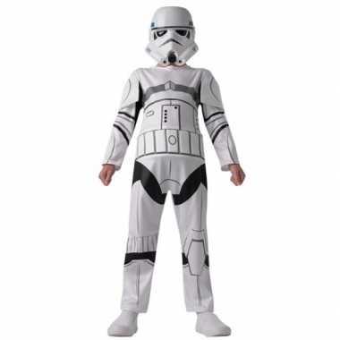 Stormtrooper carnavalskleding voor kinderen