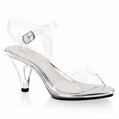 Transparante muiltjes/pumps voor dames