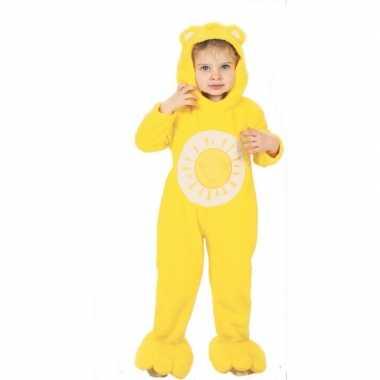 Troetelbeertjes carnavalskleding geel voor peuters