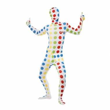 Twister carnavalskleding pak voor volwassenen