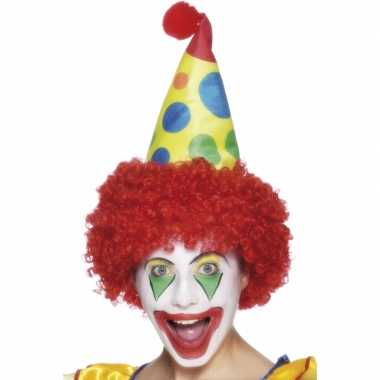 Verkleed muts voor een clown