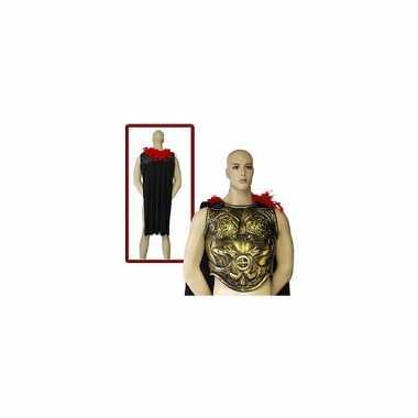 Verkleed schild met cape