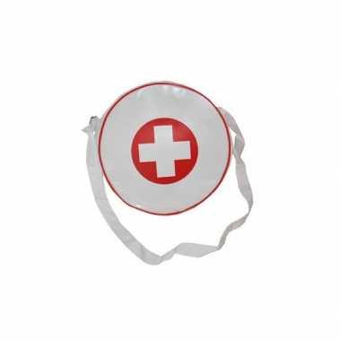 Verpleegster accessoires tas wit