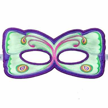 Vlinder oogmasker maanvlinder voor kinderen